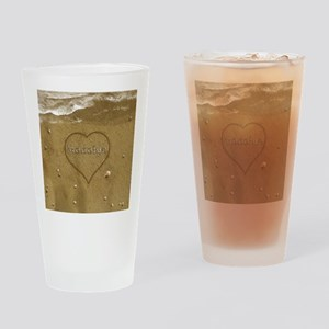 Madalyn Beach Love Drinking Glass