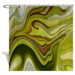 Native American Green Fields Shower Curtain