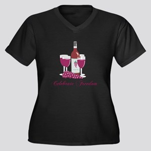 Celebrate Freedom Plus Size T-Shirt