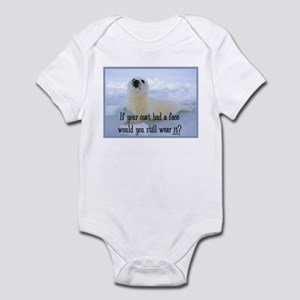 Seal Coat Infant Bodysuit