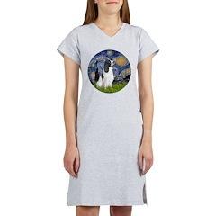 Starry - English Springer7 Women's Nightshirt