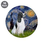 """Starry - English Springer7 3.5"""" Button (10 Pa"""
