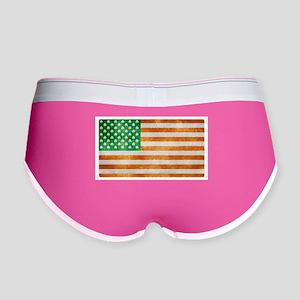 Irish American Flag Women's Boy Brief