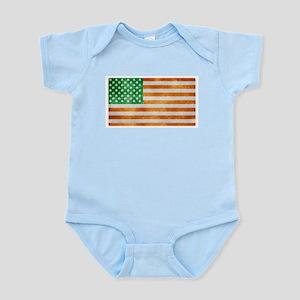 Irish American Flag Body Suit