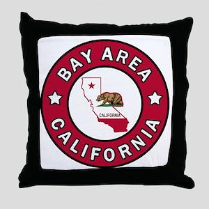 Bay Area Throw Pillow