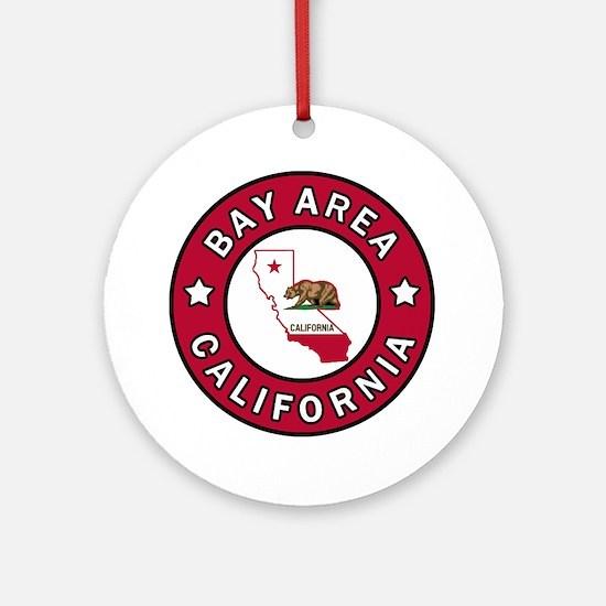 Bay Area Round Ornament