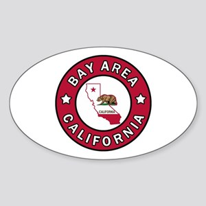 Bay Area Sticker (Oval)