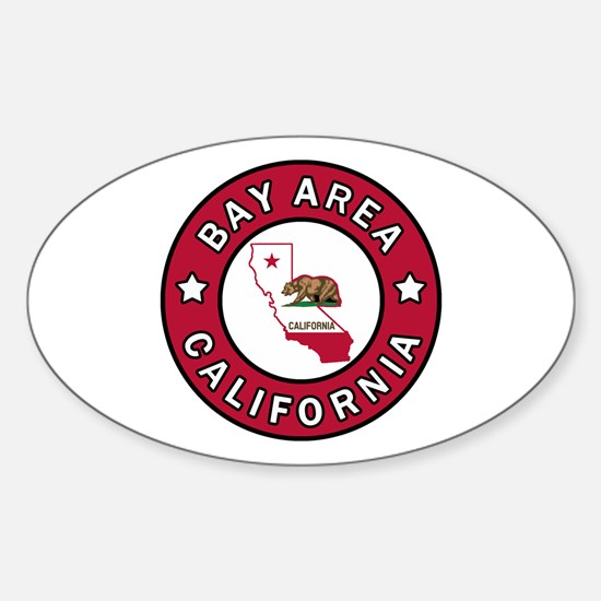 Bay Area Sticker (Oval)