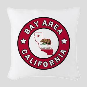 Bay Area Woven Throw Pillow