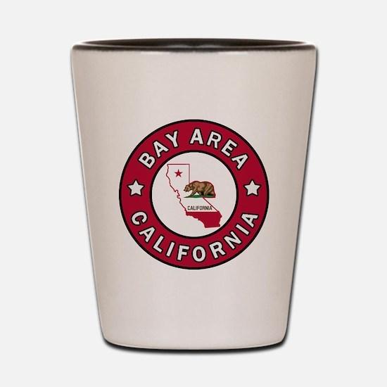 Bay Area Shot Glass