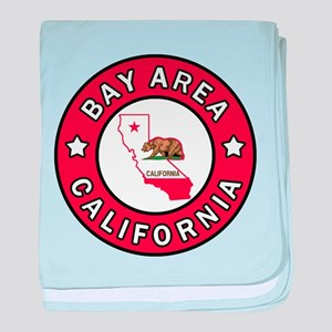 Bay Area baby blanket