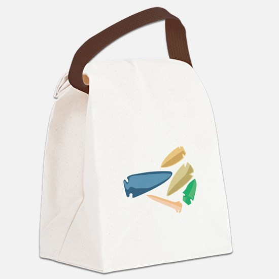 Arrowheads Canvas Lunch Bag