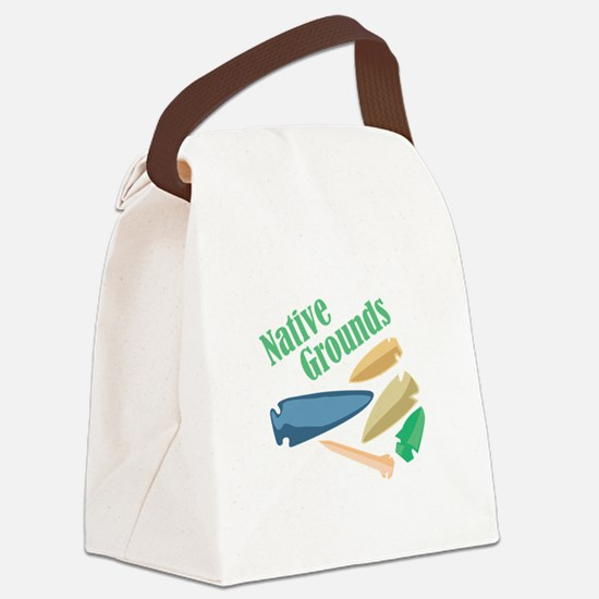Native Grounds Canvas Lunch Bag