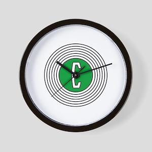 Edsel Bullseye Logo Wall Clock
