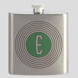 Edsel Bullseye Logo Flask