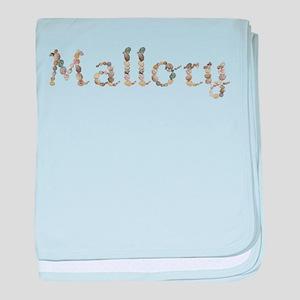 Mallory Seashells baby blanket