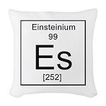 99. Einsteinium Woven Throw Pillow