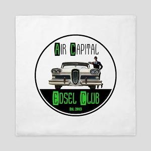 Air Capital Edsel Club Queen Duvet