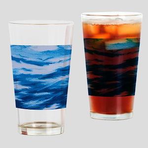 sailboat at night Drinking Glass