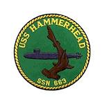 USS HAMMERHEAD Button