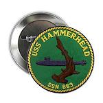 """USS HAMMERHEAD 2.25"""" Button"""