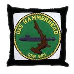 USS HAMMERHEAD Throw Pillow