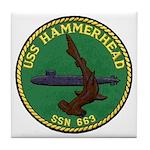 USS HAMMERHEAD Tile Coaster