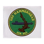USS HAMMERHEAD Throw Blanket