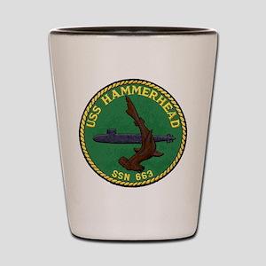 USS HAMMERHEAD Shot Glass