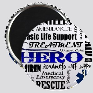 EMT Hero Subway Art Magnet