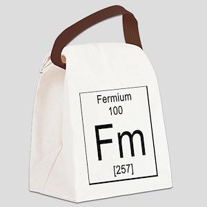 100. Fermium Canvas Lunch Bag