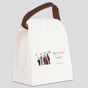 Social Workers- so misunderstood! Canvas Lunch Bag