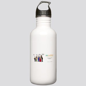 Social Workers- so mis Stainless Water Bottle 1.0L