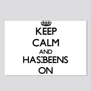 Keep Calm and Has-Beens O Postcards (Package of 8)