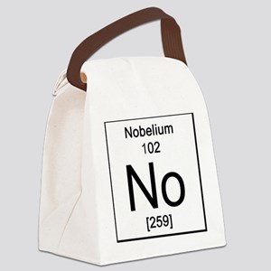 102. Nobelium Canvas Lunch Bag