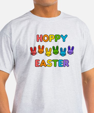 Hoppy Easter - Rainbow Bunnies T-Shirt