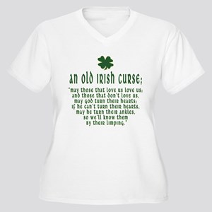 An Old irish curse Women's Plus Size V-Neck T-Shir