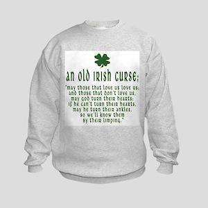 An Old irish curse Kids Sweatshirt