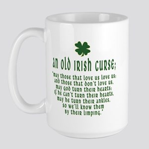 An Old irish curse Large Mug