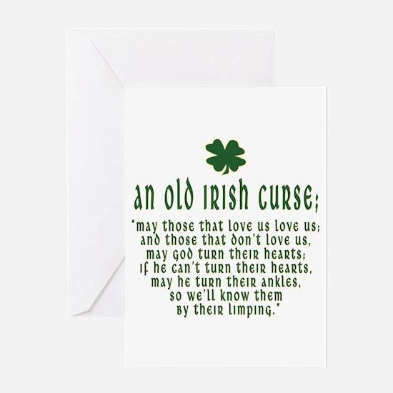 An Old irish curse Greeting Card