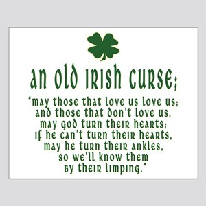 An Old irish curse Small Poster