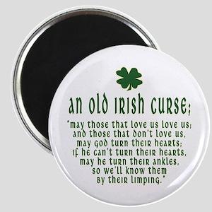 An Old irish curse Magnet