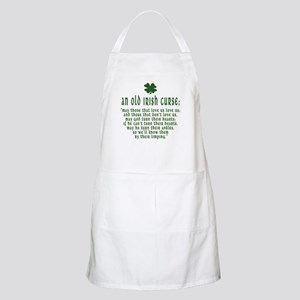 An Old irish curse BBQ Apron