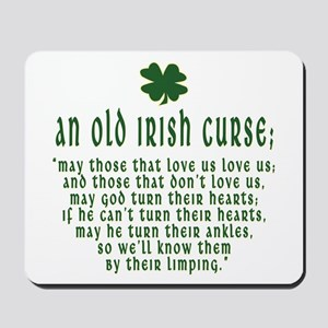 An Old irish curse Mousepad