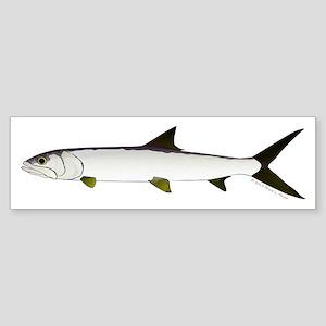 Ladyfish Bumper Sticker
