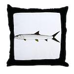 Ladyfish Throw Pillow