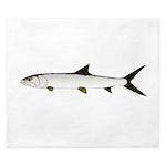 Ladyfish King Duvet