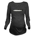 Ladyfish Long Sleeve Maternity T-Shirt
