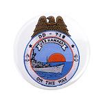USS HAMNER Button