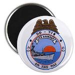 USS HAMNER Magnet